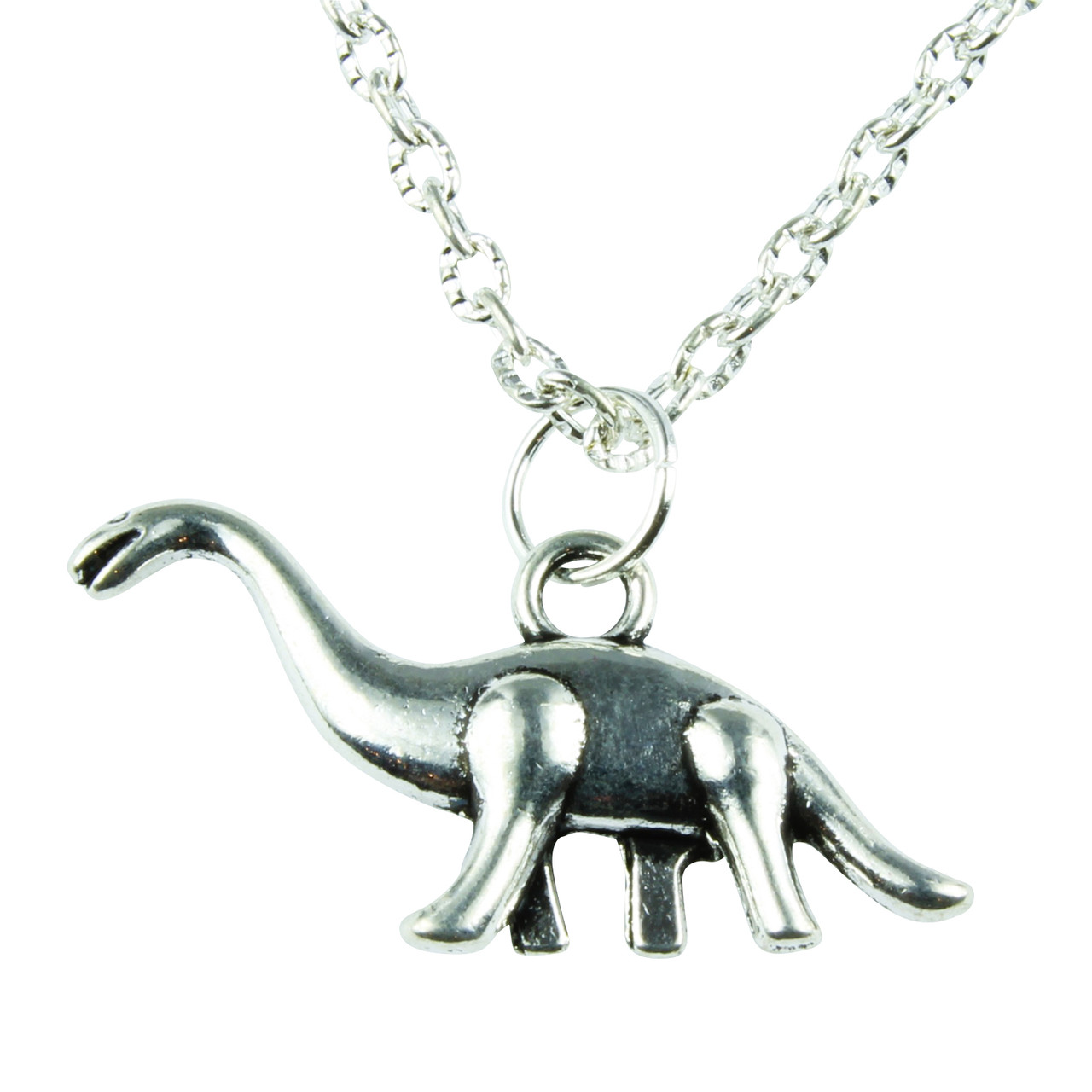 product sterling silver necklace in pendant dinosaur huiyitan original