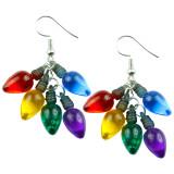 Mini Fairy Lights Cluster Dangle Earrings