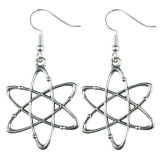 SCIENCE LAB ATOM Dangle Earrings