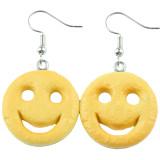SMILEY POTATO FACE Dangle Earrings