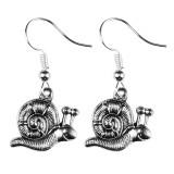 SNAIL TRAIL Dangle Earrings