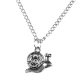 SNAIL TRAIL Pendant Necklace