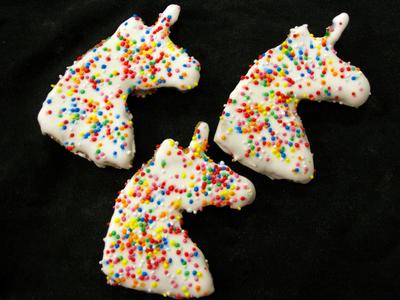 Unicorn Gourmet Dog Treats by Huds and Toke