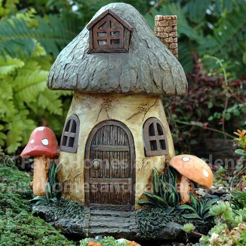 Solar Mushroom Fairy House Fairy Homes And Gardens