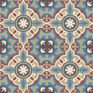 MARINA TEAL CEMENT TILES
