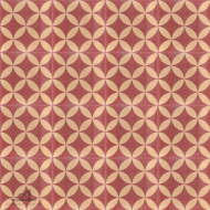 CITRUS RED CEMENT TILES