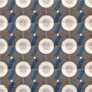 SWIRL NAVY CEMENT TILES
