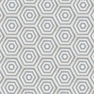 HEXAGON GREY/WHITE CEMENT TILES