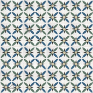 RETRO DAISY CEMENT TILES