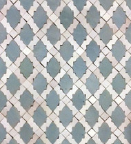 RENAIS BLUE MOSAIC TILES