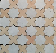 STARS & CROSS MOSAIC TILES