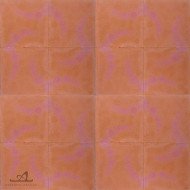 BUBBLES ORANGE CEMENT TILES