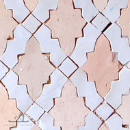 RENAIS WHITE & NATURAL MOSAIC TILES