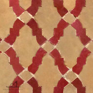RENAIS RED & BEIGE MOSAIC TILES