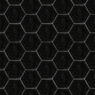 HEXAGON BLACK CEMENT TILES