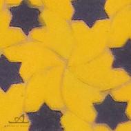 STARS YELLOW MOSAIC TILE