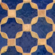 SWAY BLUE & NATURAL MOSAIC TILE