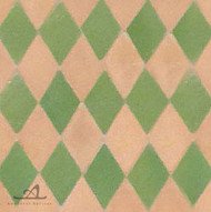 HARLEQUIN GREEN MOSAIC TILE