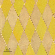 HARLEQUIN YELLOW MOSAIC TILE