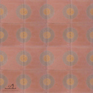 DOTS MELON CEMENT TILE