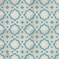 MEDALLION SPEARMINT CEMENT TILE