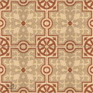 MEDIEVAL BROWN CEMENT TILES