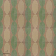 EAMES GREEN CEMENT TILE