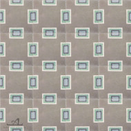 BAUHAUS GREY CEMENT TILE