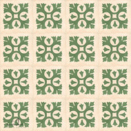 ROYAL GREEN CEMENT TILE