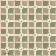 SHAMROCK GREEN CEMENT TILE
