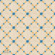 CLOTURE YELLOW CEMENT TILES