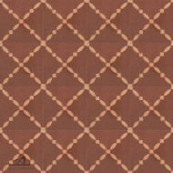 CLOTURE BROWN CEMENT TILES