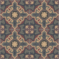 MARINA HALE NAVY CEMENT TILE
