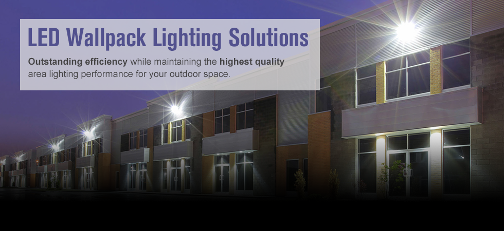LED Wallpack Lighting Solutions