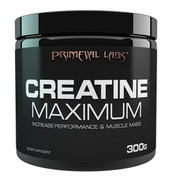 Primeval Labs CREATINE MAX, 300g.  Increase Strength, Endurance and Muscle Volume