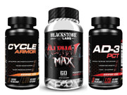 Blackstone Labs Alpha-1 Max Complete Cycle Stack (Final Supply)