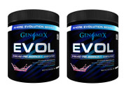 Genomyx EVOL Pre-Workout TWINPACK! Fruit Punch (Buy 2 and SAVE!)