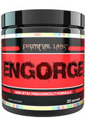 Primeval Labs ENGORGE -Muscle Pump Activator, Cherry-Limeade