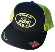 Safety Green Operator Hat