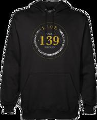 Men's Typographical Hooded Sweatshirt