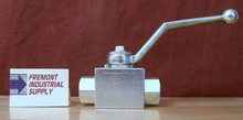 """(Qty of 1) Hydraulic Ball Valve 2 way 1"""" NPT 5000 PSI Gemels GE2NNT53011A000 FREE SHIPPING"""