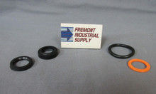 "4A06S000S Atlas series A cylinder rod seal kit for 5/8"" diameter"