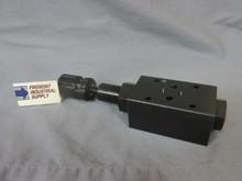 (Qty of 1) D05 Modular hydraulic counterbalance valve port B 100-1000 adjustment range FREE SHIPPING