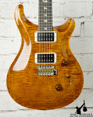 PRS Custom 24 10 Top Black Gold w/ Ebony Fretboard