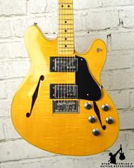 Vintage 1977 Fender Starcaster Flamed Blonde w/ Original HSC