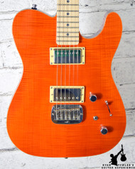 G&L ASAT Deluxe Trans Orange