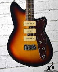 Reverend Jetstream 390 Guitar 3 Tone Burst