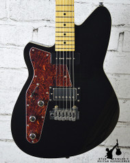 Reverend Left Handed Double Agent Wilkinson Midnight Black