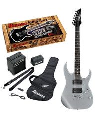 Ibanez IJRG220Z Jumpstart Silver Electric Guitar Pack