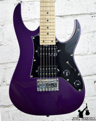 Ibanez GRGM21M GRG miKro Series Electric Guitar Metallic Purple